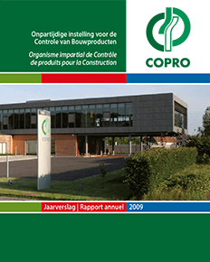 COPRO annual report 2009 cover